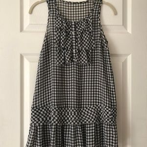 Twelve by Twelve checkered tunic - 100% polyester